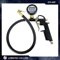 Tire repair tools for Pistol Grip Air Tire Inflator with gauge Tire inflator gun