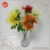 SFB3914 Garden Plant Plastic Flower Single Long Stem Floral Artificial Safflower Faux Cut Mini Tree Branches Silk Flowers