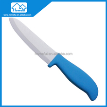 Zirconia colored thin blade knife in ABS handle