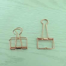 Fancy office metal quality file Binder Paper Clips