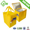 Hot eco friendly promotional non woven insulated lunch bag with logo