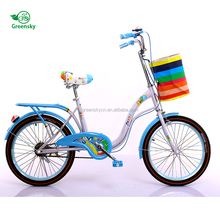 Best price child small bicycle bike with basket / Exercise 4 wheel kids bike for sale