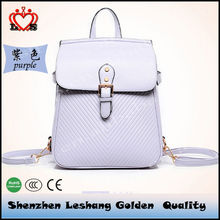 High Quality Small Order Accept Ladies Backpack