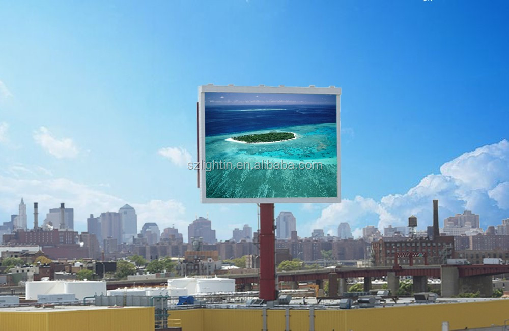 Die Cast Aluminum Outdoor Cabinet P4 Rental Using Advertising LED Display Board Full Color Waterproof Module