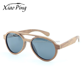 Big discount UV400 red Wooden polarized Sunglasses Wholesale in china with wood case
