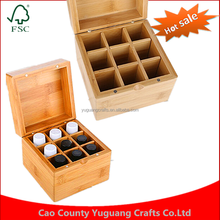 hot sale with cheap price wooden essential oil boxes made in china home storage box
