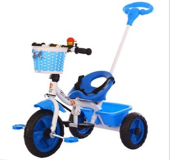 parent hand bar kids tricycle LYQ006
