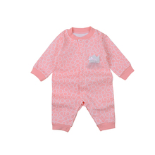 Wholesale high quality baby romper infant jumpsuit 100% cotton baby pajamas