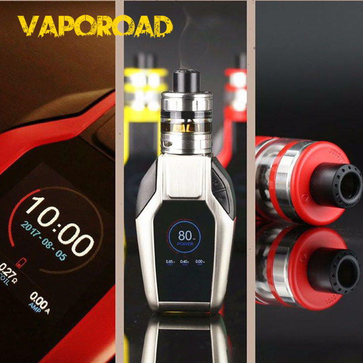 Automobile key design TFT screen vape mods 80W 2A quick charge joyetech Ekee with procore motor