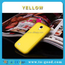 New Arrivals Distributor Of Wholesale Smartphone Case For Samsung Galaxy S4 Mini I9190 (Yellow)