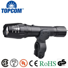 10w Zoom Tactical Strong Light Rechargeable bike light