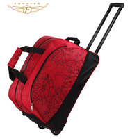 Printing Trolley Travel Luggage Bag For