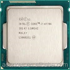 CPU Processor Intel i7 4770K 8M Brand New cpu