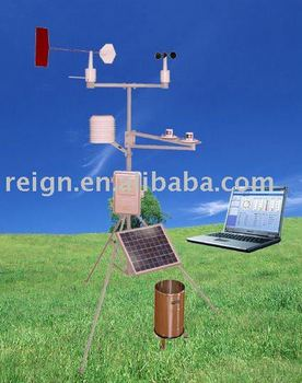PC-4 solar energy wireless weather station system