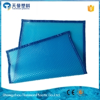 Reduce indoor humidity bubble solar pool cover for public swimming pool
