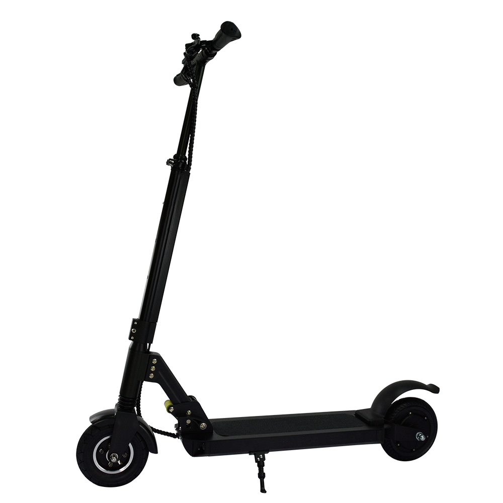 8 inch wheels adults foot kick scooter drum brake electric mobility scooter