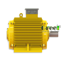 Hot! 50kW 20RPM Magnetic generator for Horizontal wind turbine, three phase wind power generator