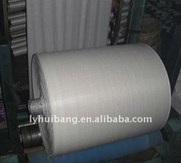 white pp woven fabric