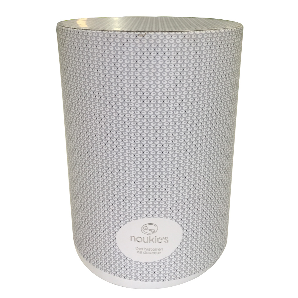 Eco friendly food grade paper cylinder packaging box/tube/container for tea/food packaging