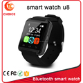 2015 Alibaba hot sale cheap smart watch u8 with pedometer