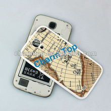 Map Design Leather Back Cover For Samsung Galaxy S4 i9500