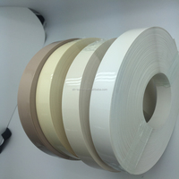 Superior quality mdf board/plywood used flexible edge trim,door edge banding