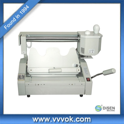 Manual mini binding machine price