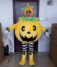 pumpkin mascot costume adult pumpkin costume