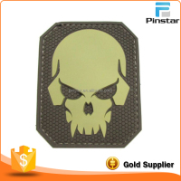 Buy Hydra Death Skull Octopus 3D PVC Velcro Badge Morale Military ...