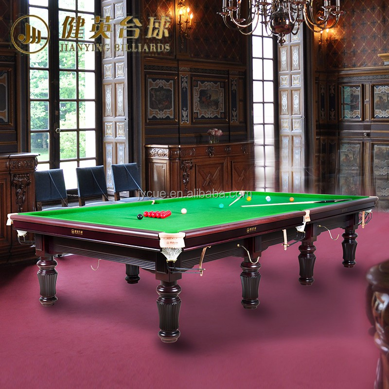 Hot sale customized snooker table price 12ft