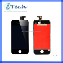factory promotion !!! mobile phone spare parts for iphone 4s , lcd dispaly panel for iphone 4s