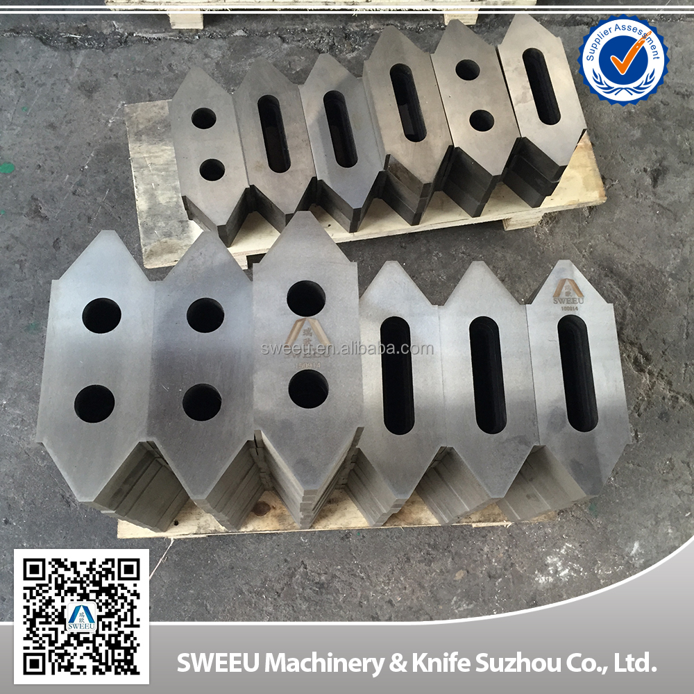 Copper cable granulator blades/knives made in china