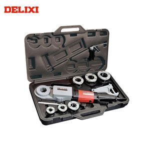 "plumbing tools and equipment DELIXI DLX30-2B 1/2"" To 2"" High Efficiency Long Service Life Pipe Threading Machine Supplier"