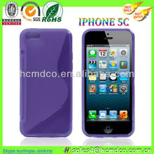 for ultra thin frosted iPhone5C case/for transparent crystal iPhone 5C case