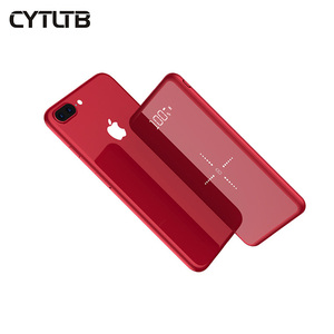 2018 CYTLTB Wireless Charger Power Banks Slim Wireless Power Bank 10000mah