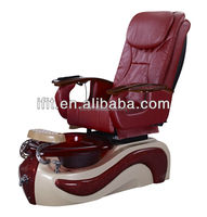 Deluxe elegant pedicure spa massage chair for nail salon