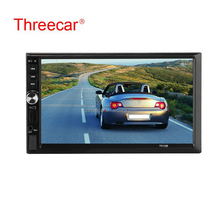 "7"" Double 2DIN HD Car MP5 MP3 Player Bluetooth Touch Screen Stereo Radio +Camera"