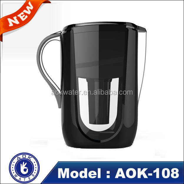 FDA tested BPA-FREE portable alkaline water filter pitcher in 3.5L OEM/ODM private label service