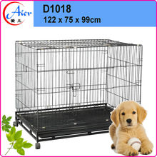 factory supply strong stainless steel dog cage D1018
