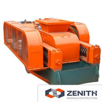 Zenith high quality used double roller crusher