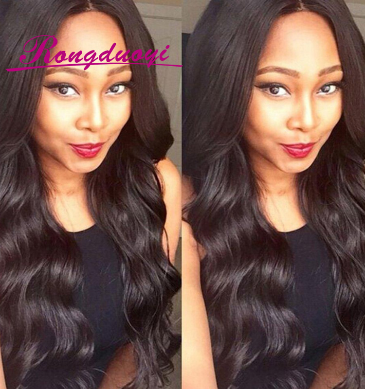 Wholesale Grade 7A Free style Body Wave Virgin Human Brazilian Hair Lace Front Wig