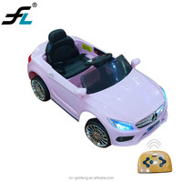 2018 popular remote control electric kids toy car for 1-7 years old children