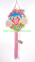 fuuny happy clown printed paper candy bag