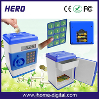 Hot Sale Coin Counter Electronic Safety Money Box with Password Lock