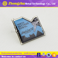japanese metal cartoon souvenir badge decorative design pin colorful animation style emblem