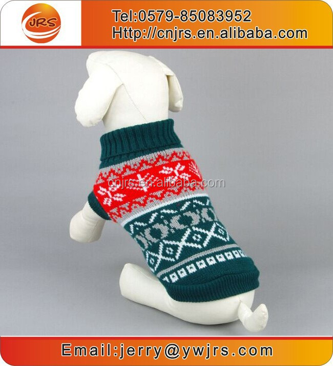 China factory wholesale pet clothing dog clothes ,knitting pet sweater