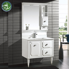 Project Bathroom Cabinet Wall Mounted Corner Bathroom PVC Cabinet