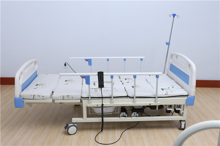 Manual electric dual bed To prevent the skid nursing hospital bed