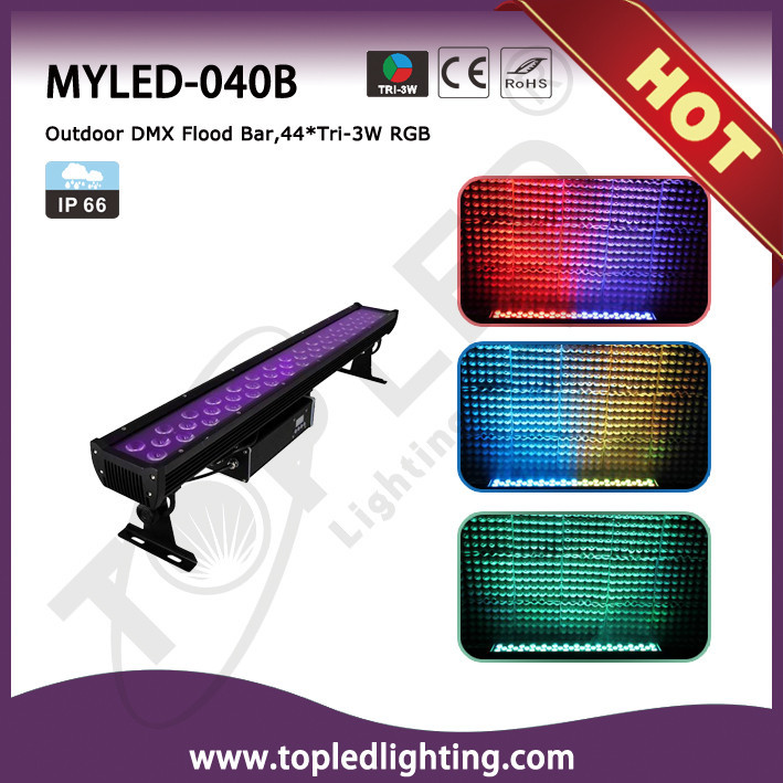 Powerful DMX512 3in1 RGB Floor Light LED Wall Washer Light