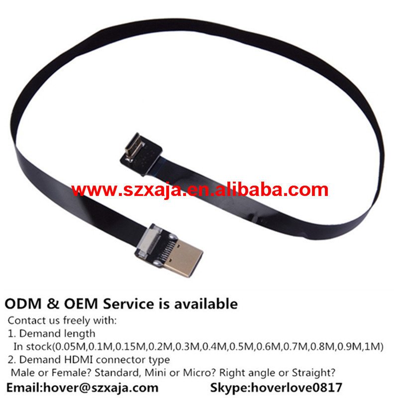 wiring Camera cable with Micro HDMI male connector RCLINK-C1 RunCam HD FPV Camera Micro HDMI ribbon soft Cable